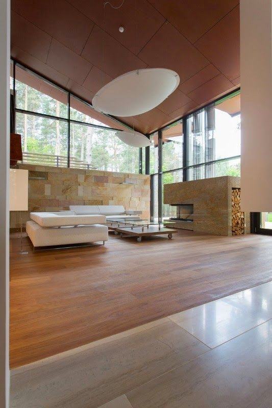 Dise o de interiores arquitectura moderna casa de campo for Diseno decoracion hogar talagante