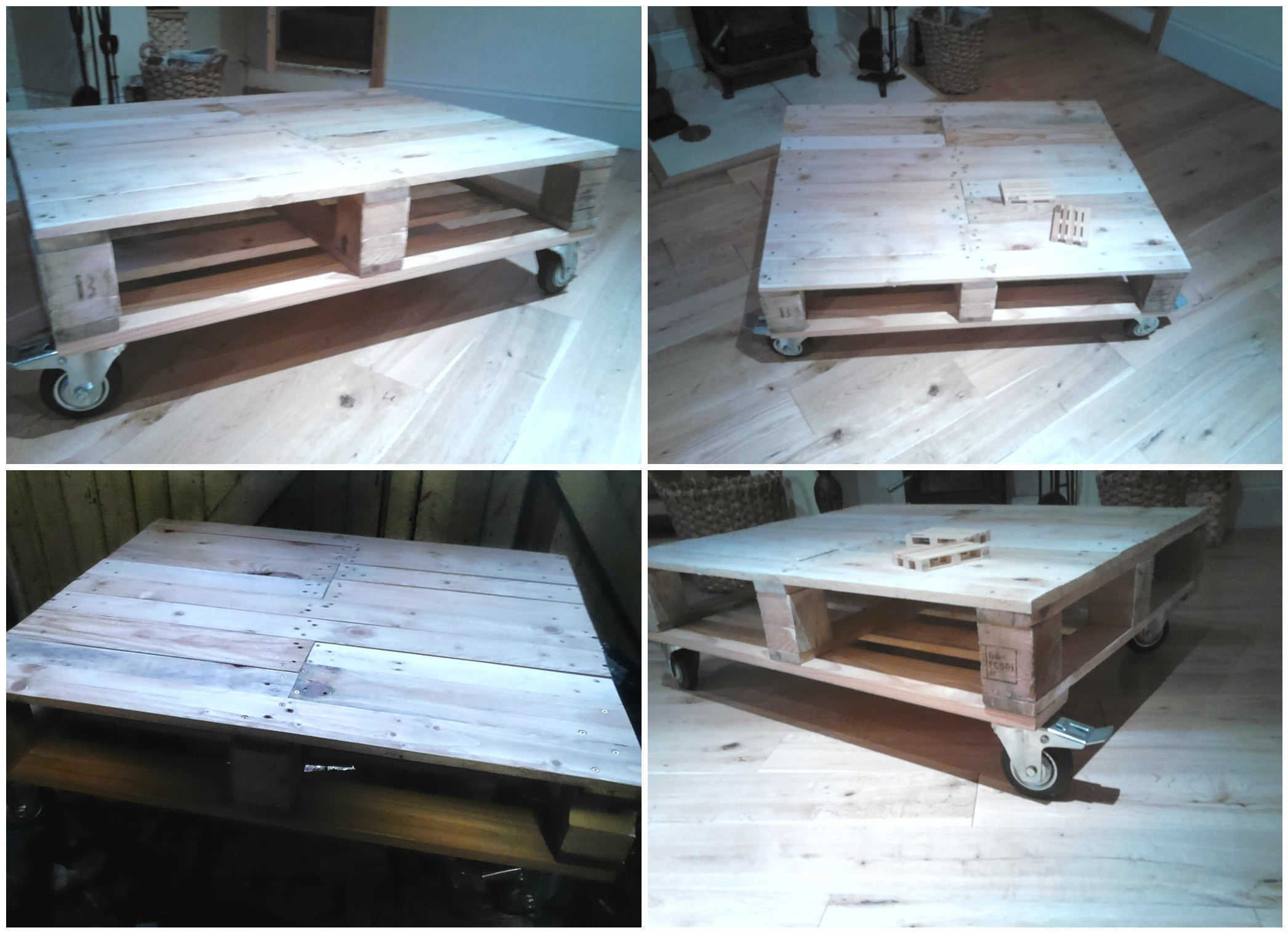 Genius Coffee Table Ideas From Reclaimed Pallet Wood Coffee Table,