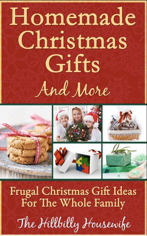 DIY Homemade Christmas Gift Ideas Diy homemade christmas gifts