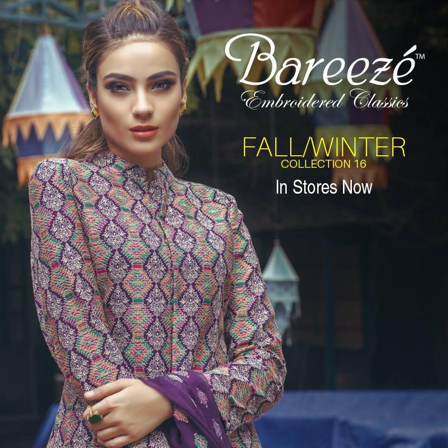 Bareeze live dresses gallery bareeze fashion brand photos designs - Bareeze Fall Winter Collection For Women 2016 17