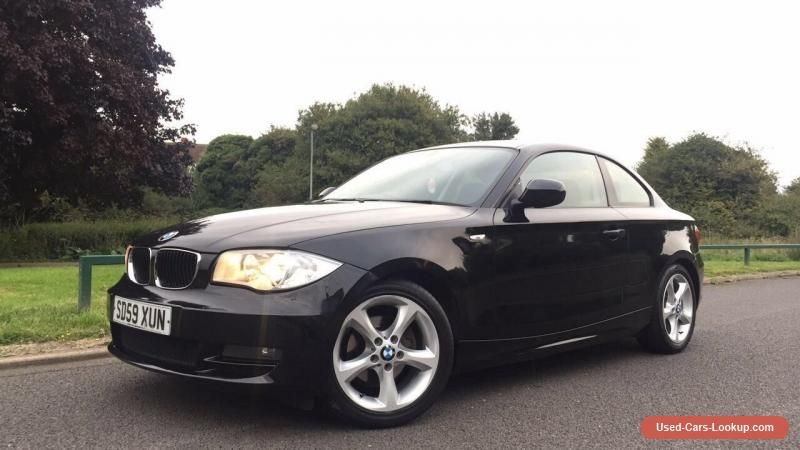 2009 Bmw 118d Coupe 2dr Sport 2 0 Diesel Black Low Mileage Bmw