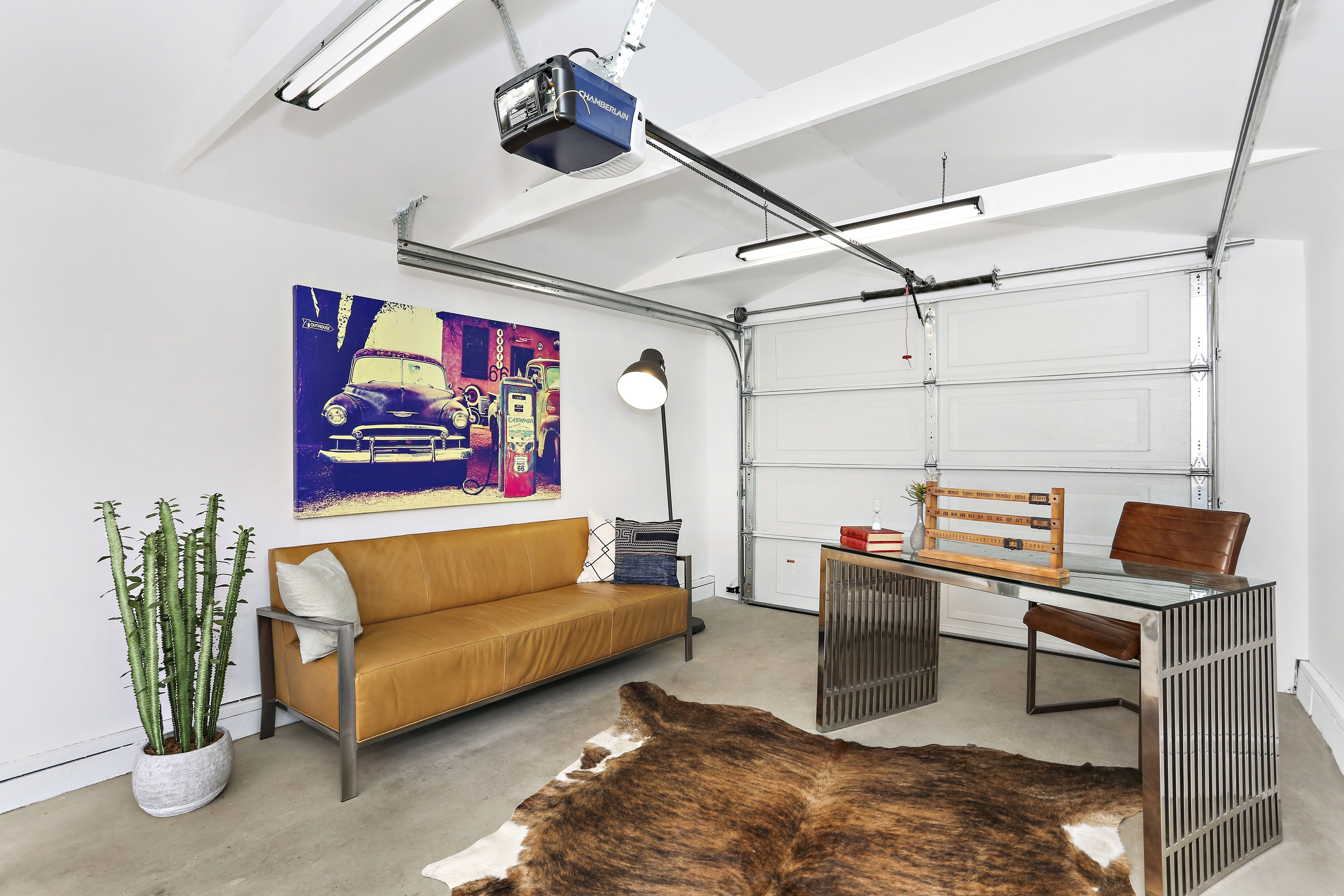 In Los Angeles most people never use their garage due to the ...
