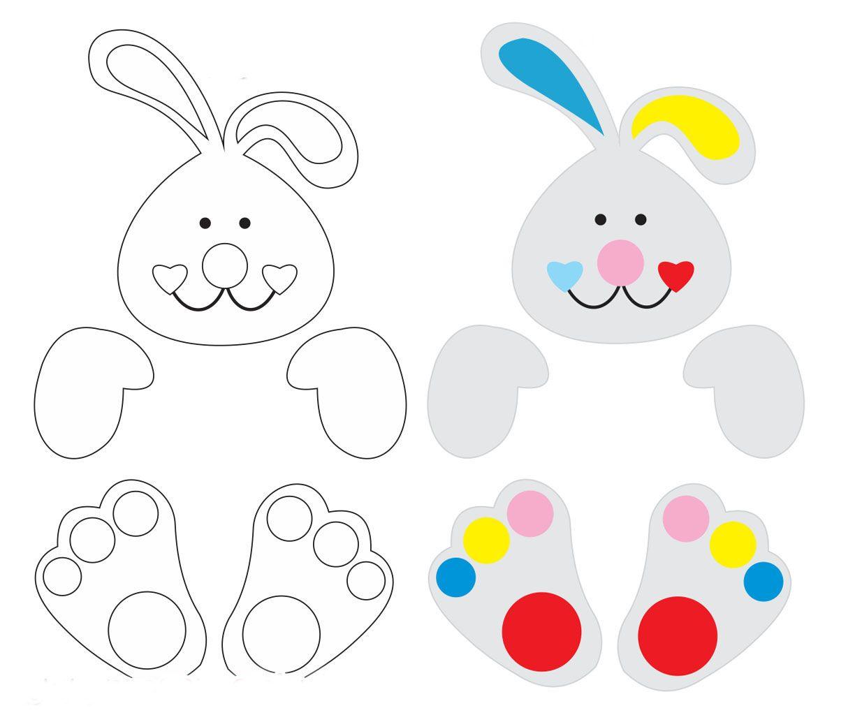 Conejo con dulces para Pascua | pascuas | Pinterest | Conejo, Dulces ...