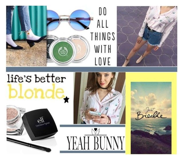 """""""#JustBreathe"""" by juromi ❤ liked on Polyvore featuring The Body Shop, Yeah Bunny and YeahBunny"""