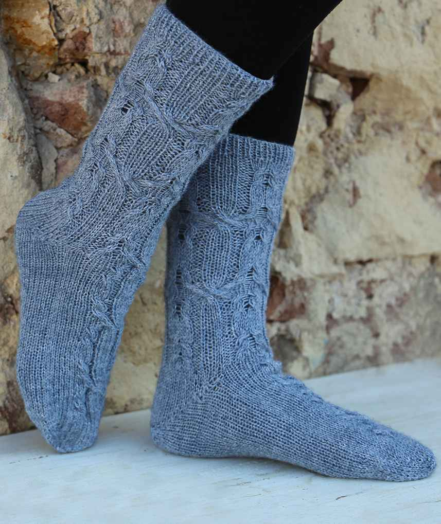120 + Free Sock Knitting Patterns Perfect for Winter! (139 ...