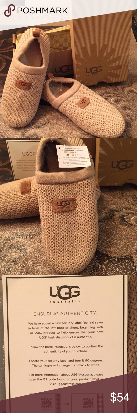 a83c6c3379 Ugg House shoes NEW IN Box 👣Ugg House shoes✨New in Box with tags