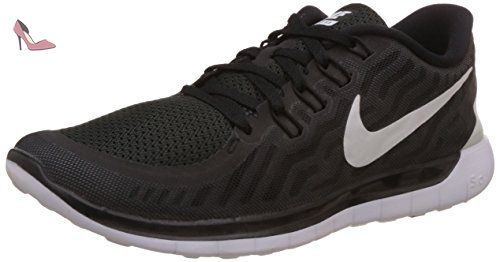 Nike Free 5.0, Chaussures de Running Entrainement homme, Noir (Black/White/