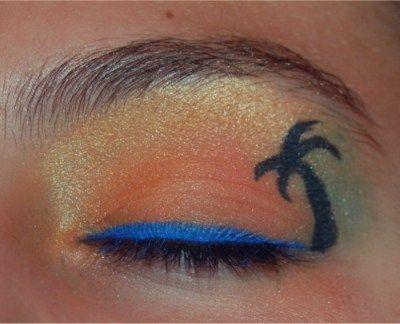 summer eye art