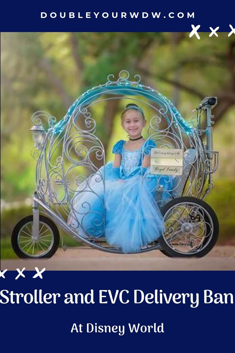 Stroller and EVC Delivery Ban at Disney World (With images