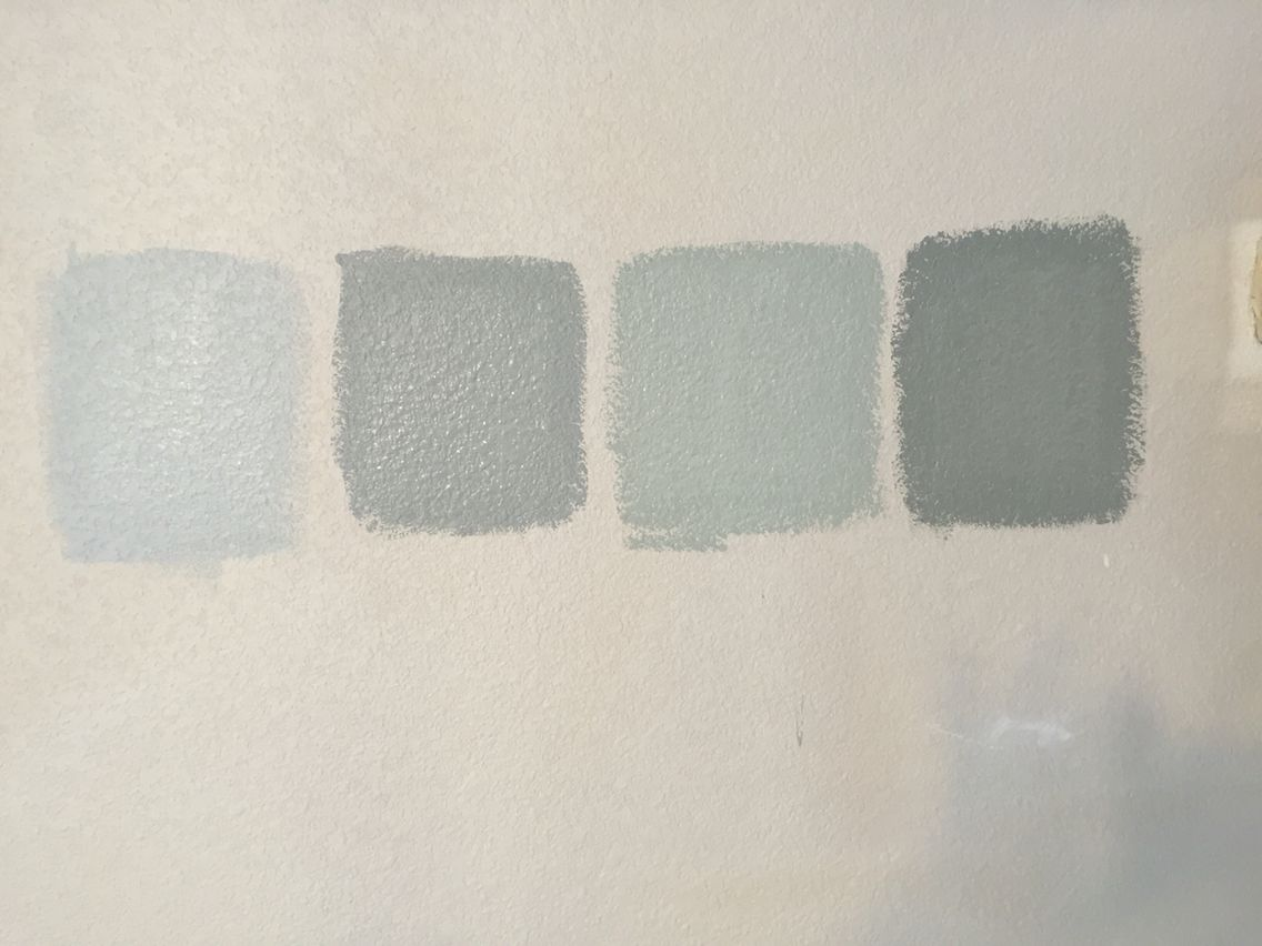 Sherwin Williams Prove Colors From Left To Right Silver Strand