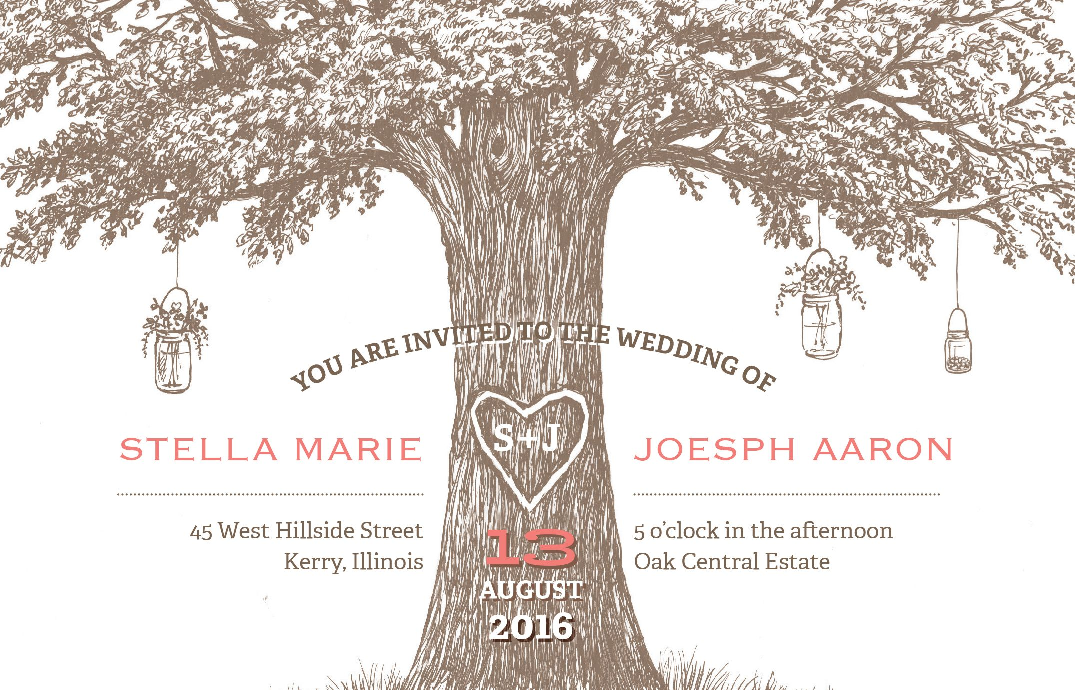 Vistaprint Invitations Wedding: Country Wedding Invitations