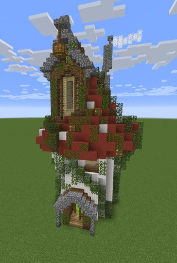 Minecraft Dirt House