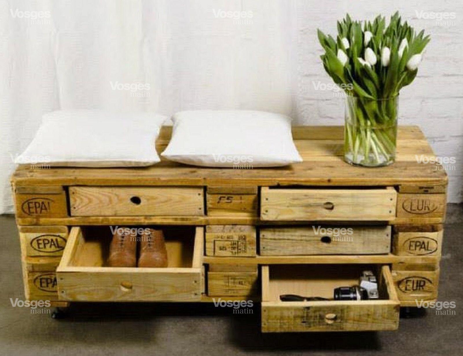 des meubles originaux en bois de palette! 20 idées + tutorial