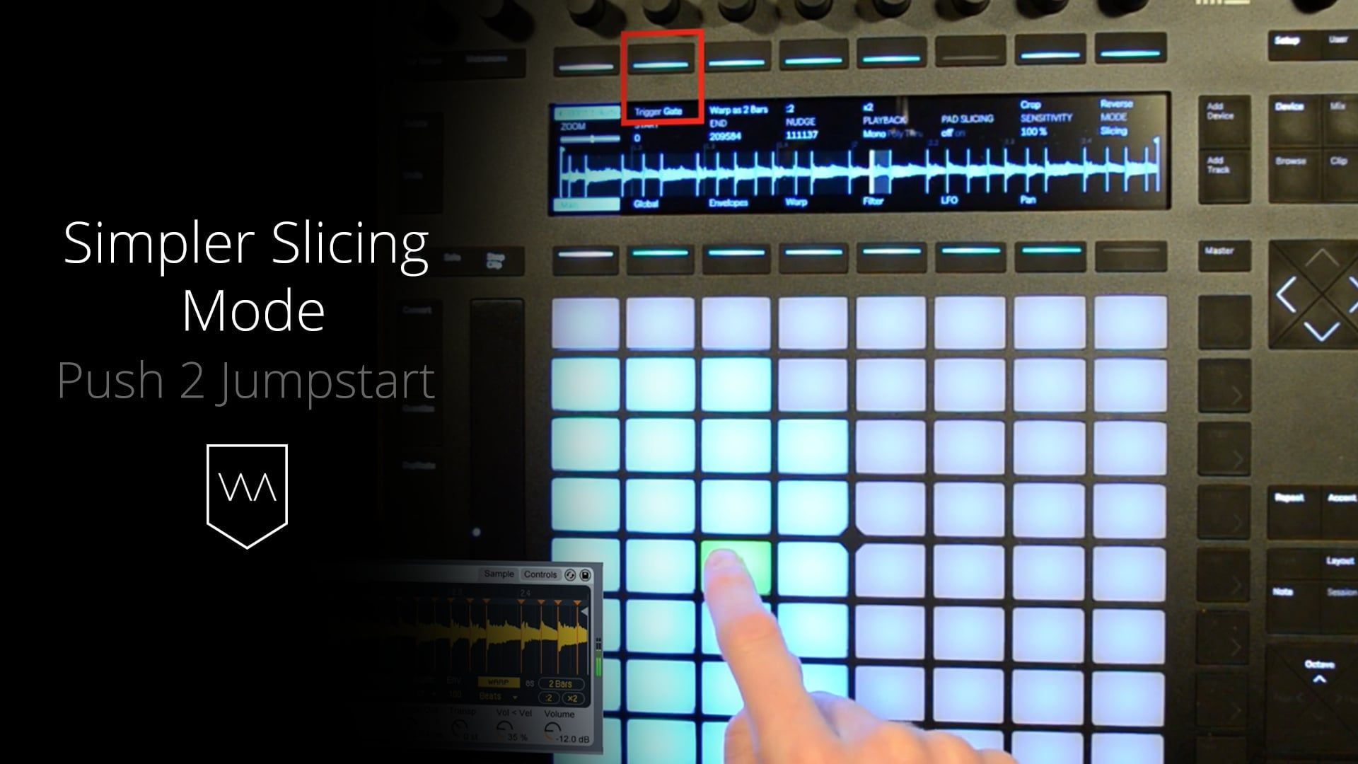 Free Preview Video: Ableton Push 2 Jumpstart - Simpler Slicing Mode