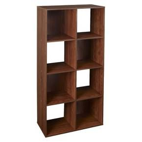 Closetmaid Cubeicals 8 Cube Organizer Shelf Dark Cherry Target