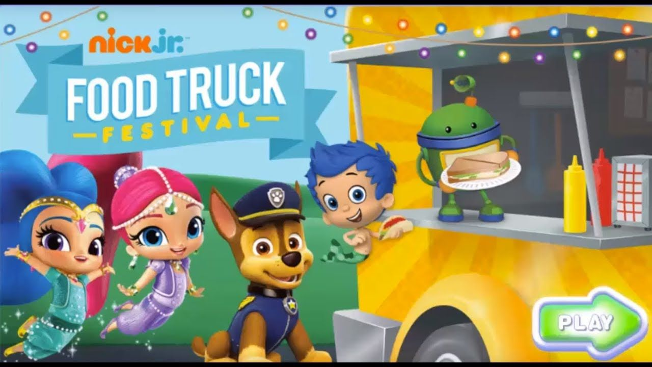 Play Food Truck Festival For Free W Paw Patrol Bubble Guppies More N Kids Games For Girls Food Truck Festival Pet Games For Kids