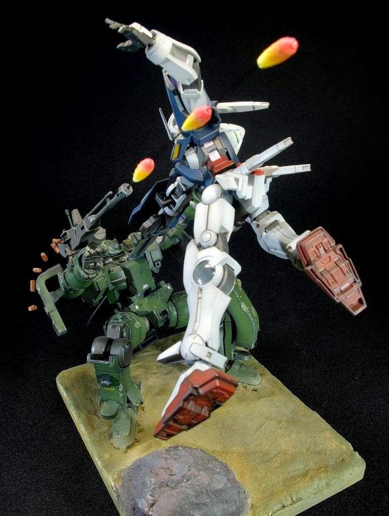 HG 1/144 Gundam Exia VS Tieren Diorama Build - Gundam Kits Collection News and Reviews
