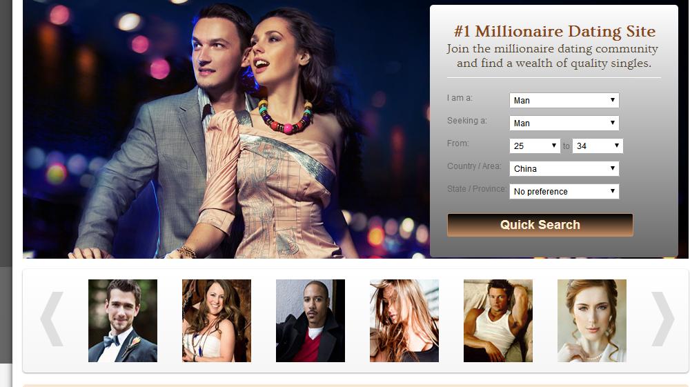 millionaire matchmaker site