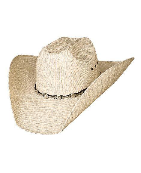 7c160820b97 Bullhide Justin Moore Backwoods 50X Straw Cowboy Hat