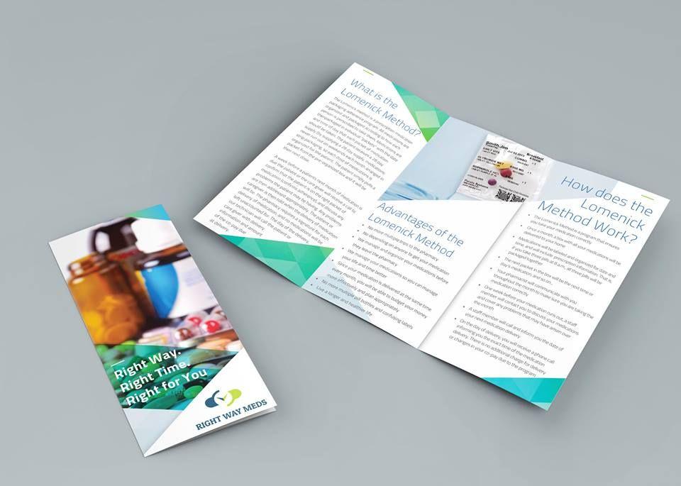 This brochure we\u0027ve designed has us feeling good! #brochuredesign