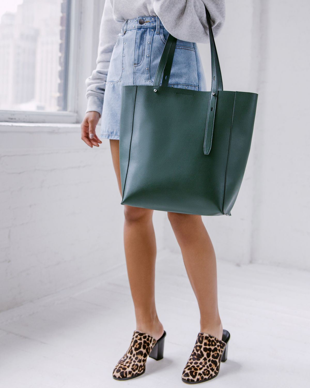 Stella North South Tote   Rebecca Minkoff, tote, tote bag, tote work, tote  leather, tote designer, green tote bag, tote bag outfit, tote bag style 0444a8a7fb