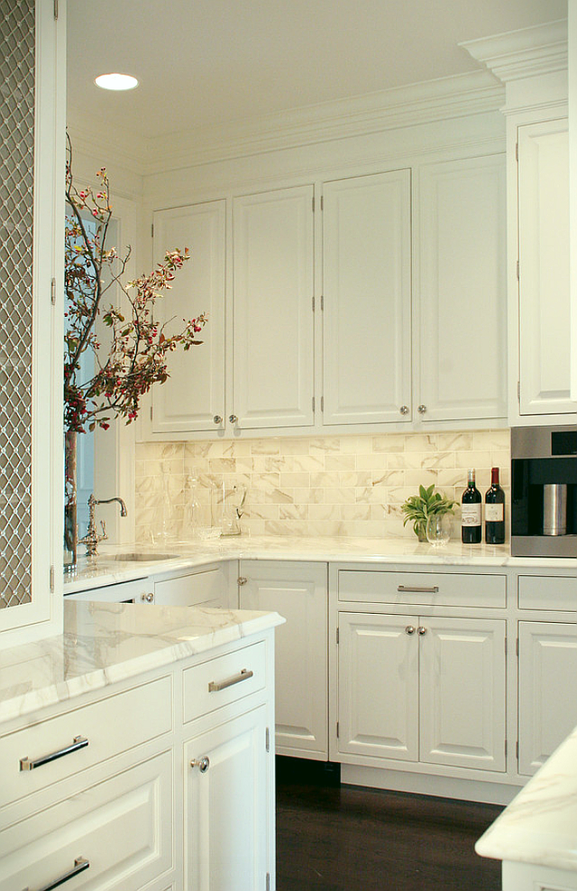 Top 25 Must See Kitchens On Pinterest White Kitchen Design Kitchen Remodel Classic White Kitchen