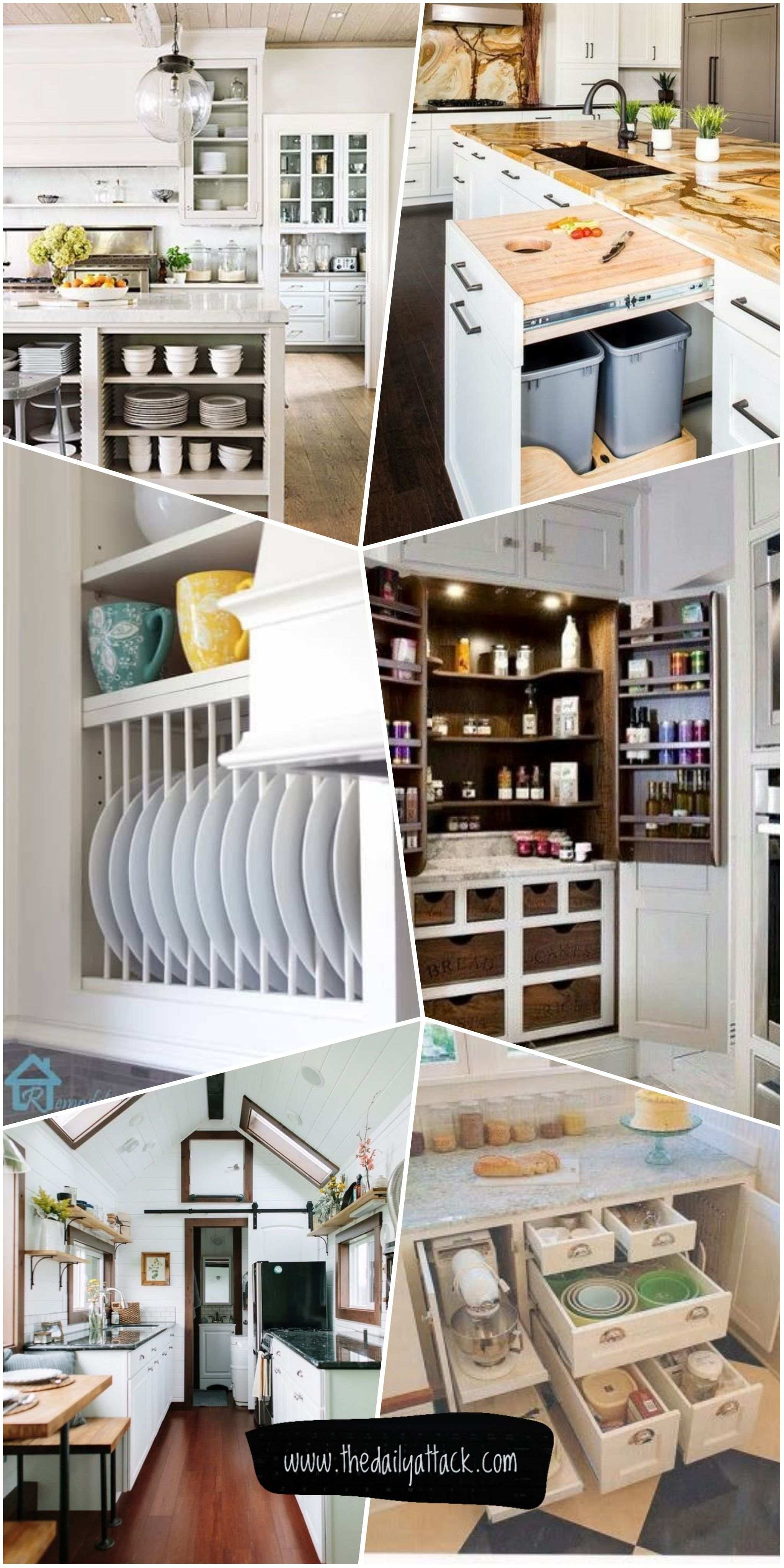 61 Unique Kitchen Storage Ideas Easy Storage Solutions For Your
