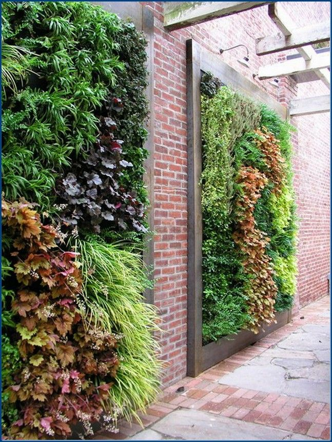 Diy Living Wall amazing diy-living-wall-planter-garden-art-design | succulents and