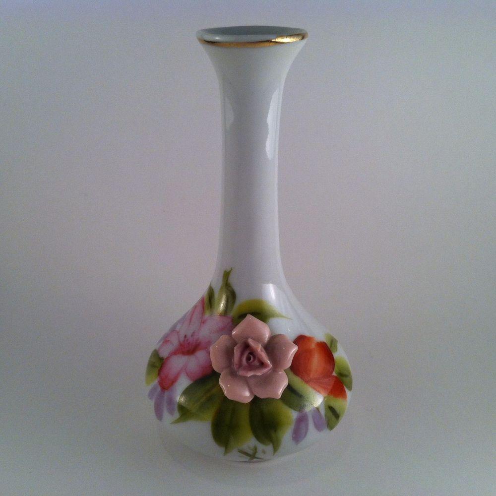 Vintage Hand Painted Noritake Occupied Japan Small Bud Vase Small Vintage Vases Bud Vases