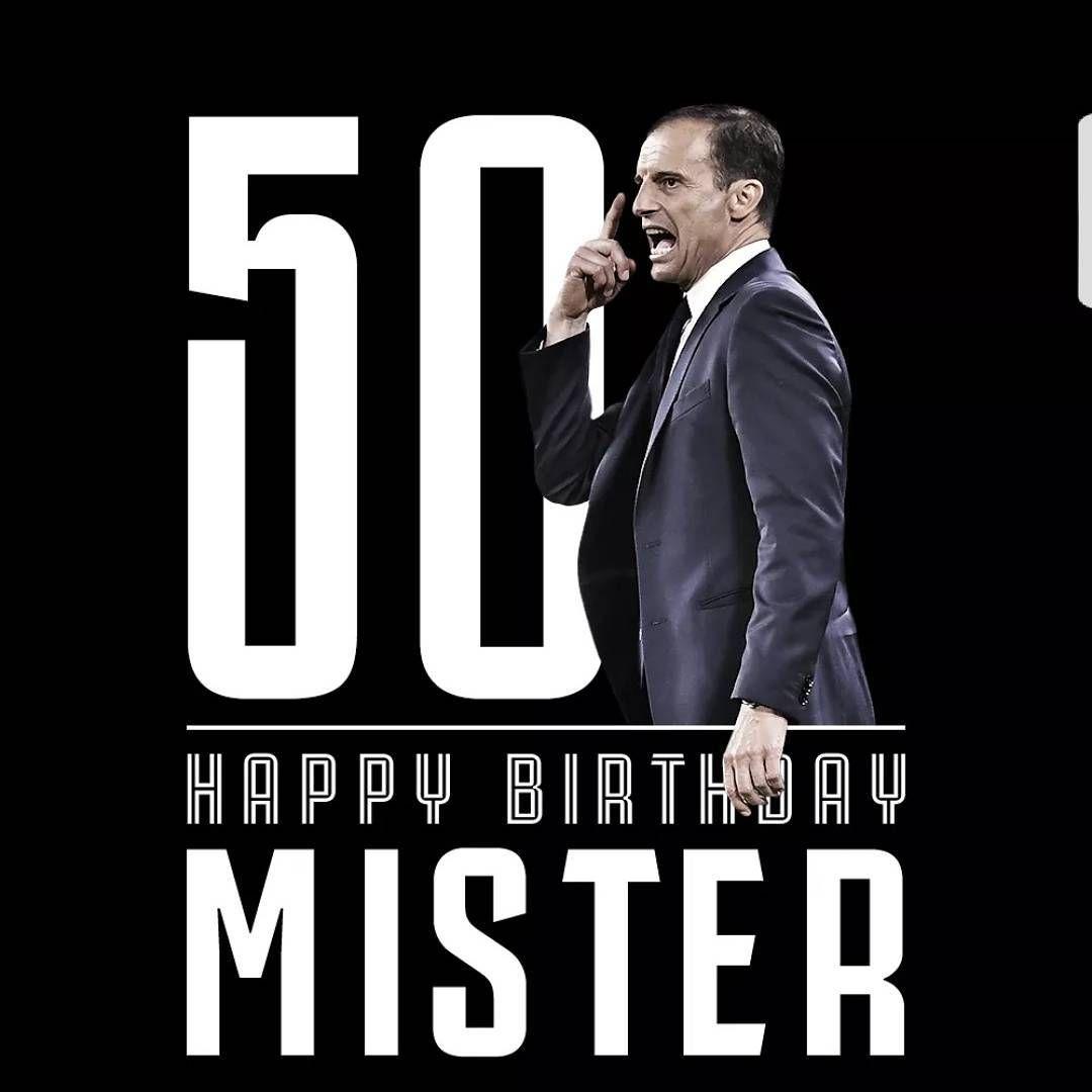 Buon Compleanno Mister Massimiliano Allegri Spegne Oggi 50