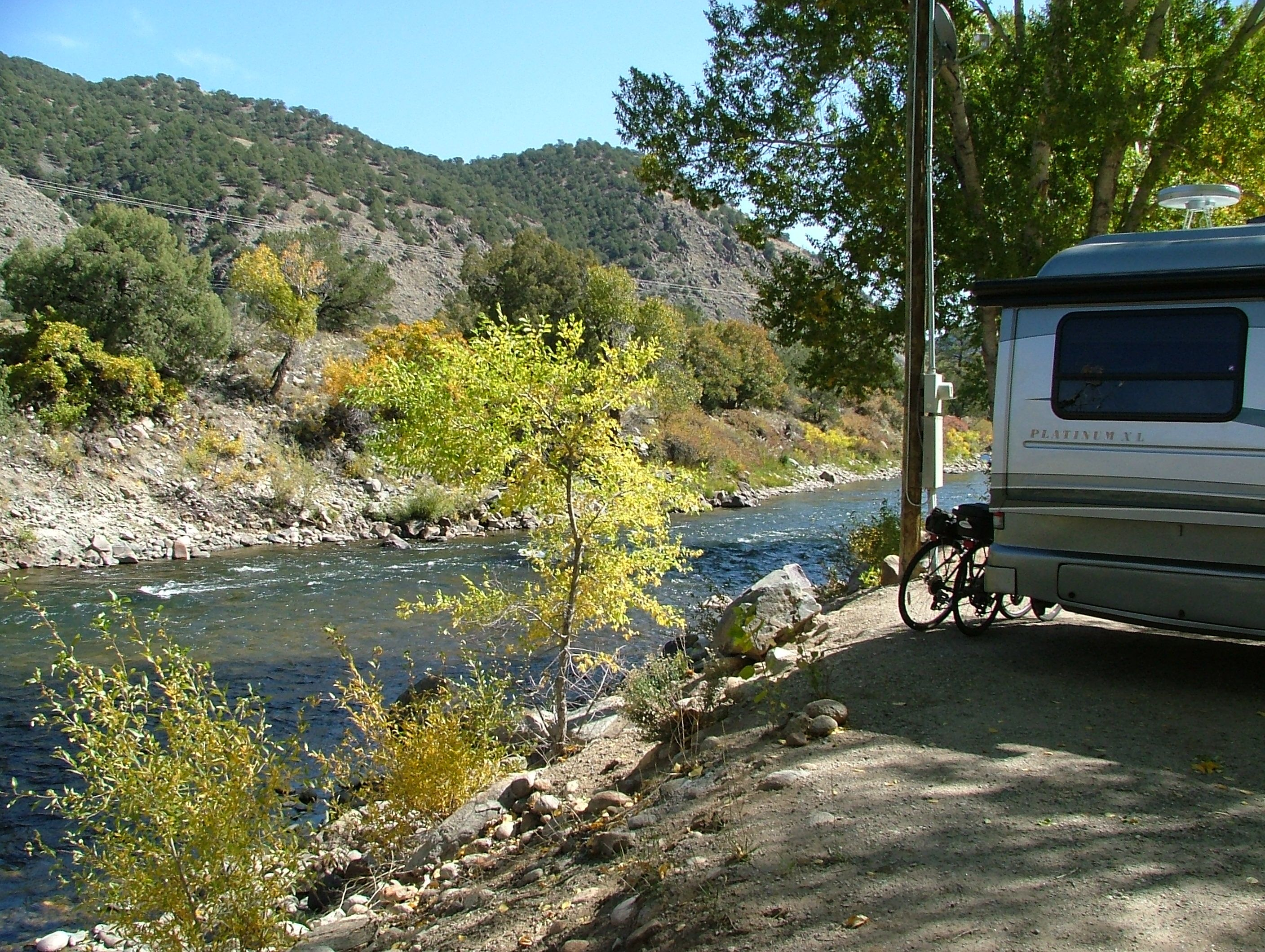 Four Seasons RV Park Salida Colorado Located On The Arkansas River
