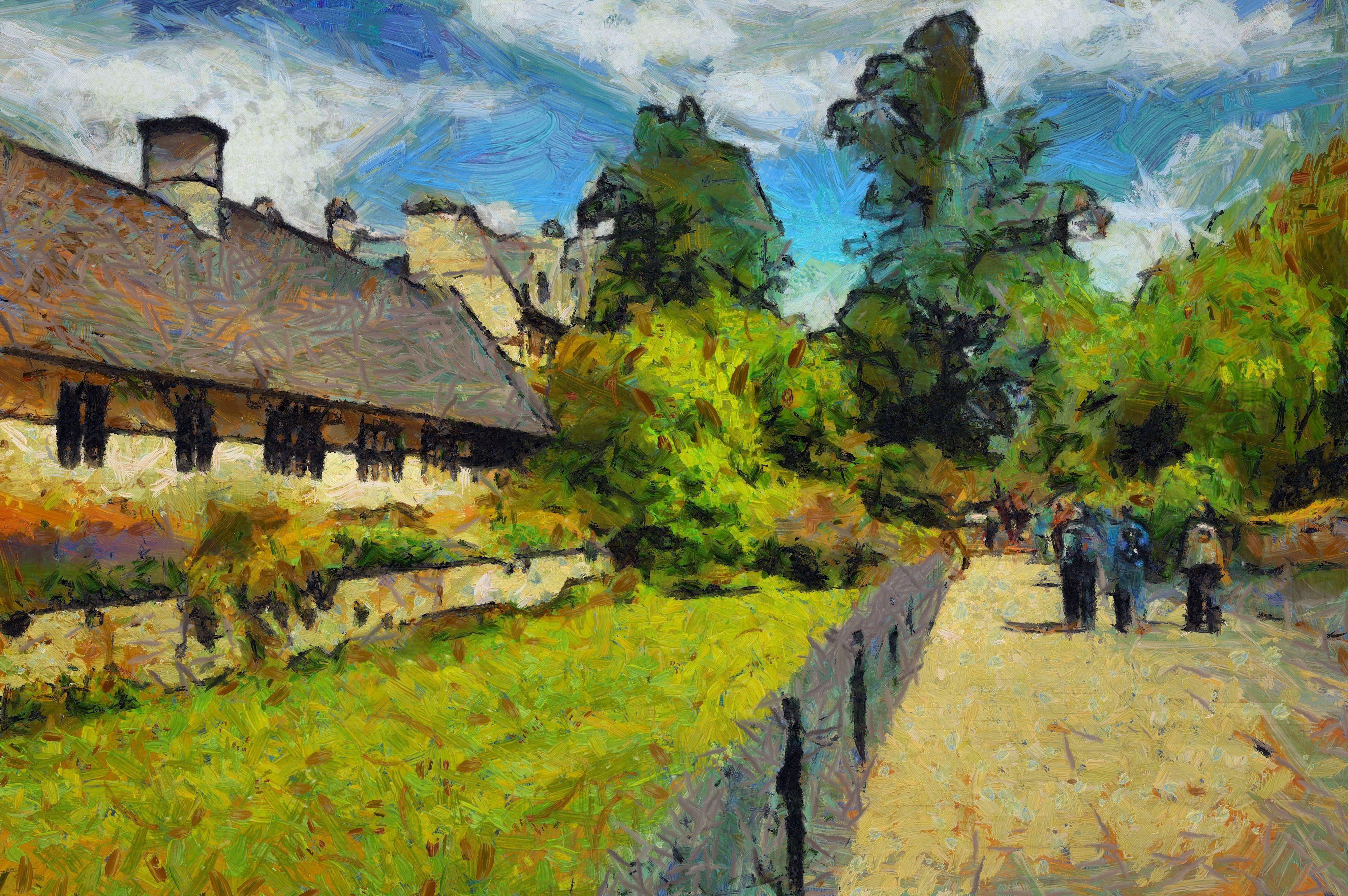 Dynamic Auto Painter @Mediachance Van Gogh HD Oxford Christchurch college