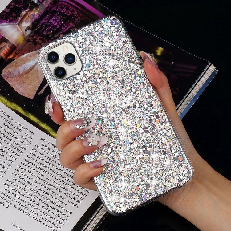 Case in a Box - Brillos blancos | Glitter case, Glitter phone cases, Iphone phone cases