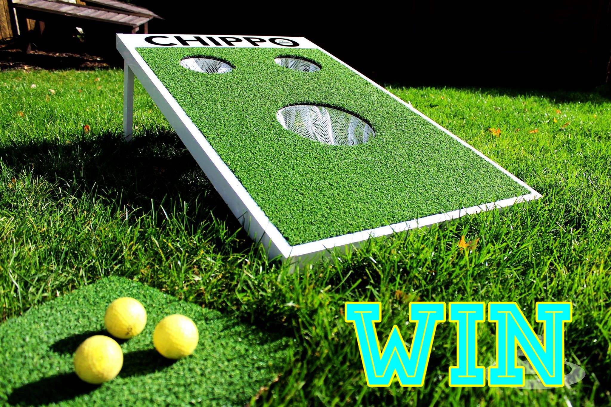 Enter To Win The Chippo Golf Game That Challenges You Go Chip Golf Balls Into The Holes To Win Enter On Our Facebook Ww Giveaway Contest Golf Game Golf Ball