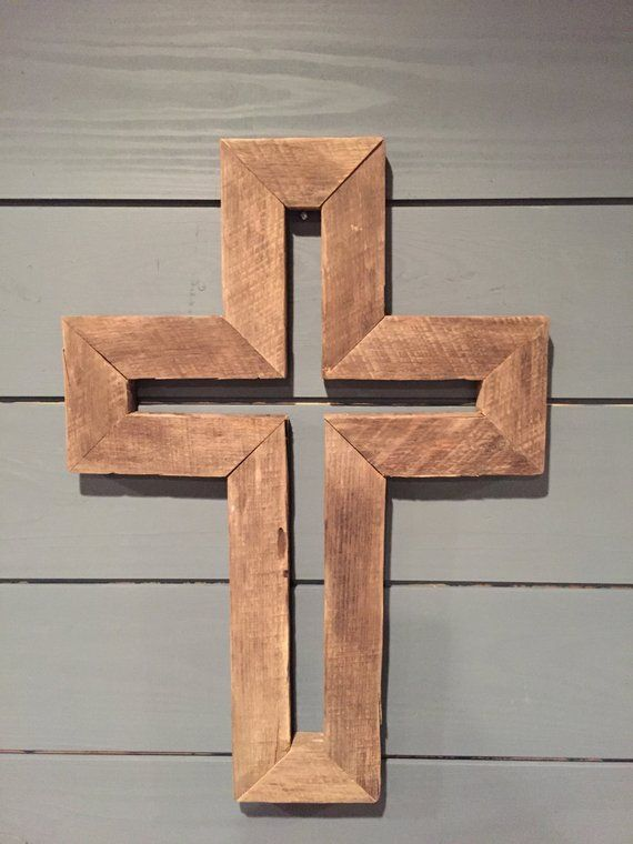 Rustic Wooden Cross Vinyl Wooden Crosses Wood Carving