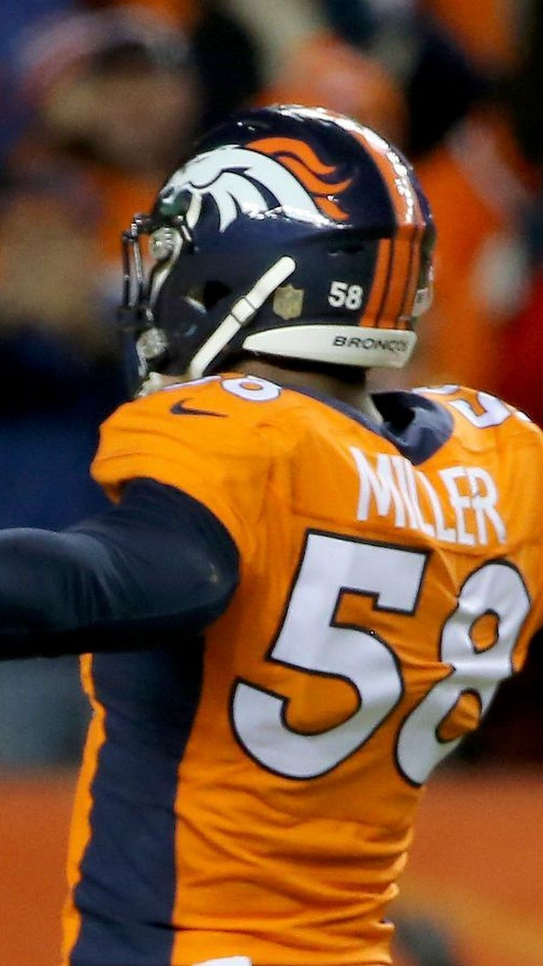 Von Miller Denver Broncos iPhone Wallpapers Nfl football