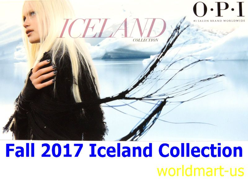 Gel Nails: Opi Gelcolor Iceland Collection Fall 2017 Nail Polish ...