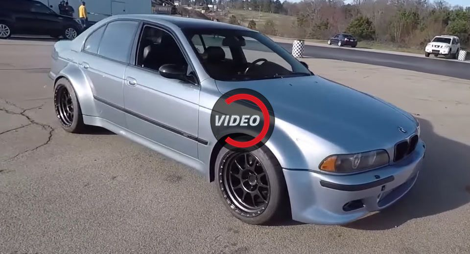 Supra Powered Wide Body BMW E39 M5 Is A Purists Nightmare