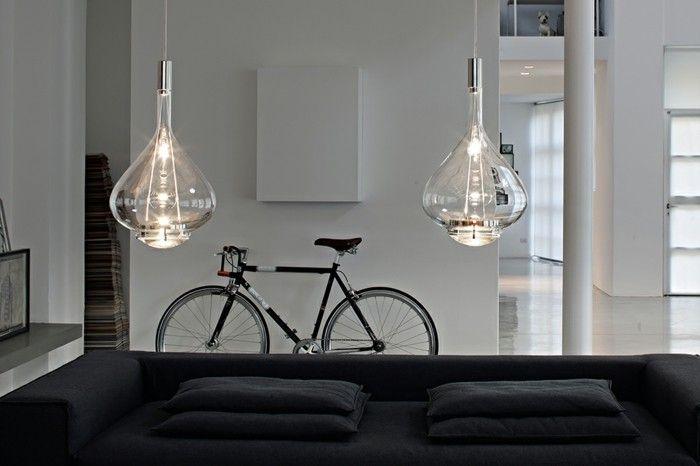 La suspension luminaire en fonction de votre intérieur stylé salle