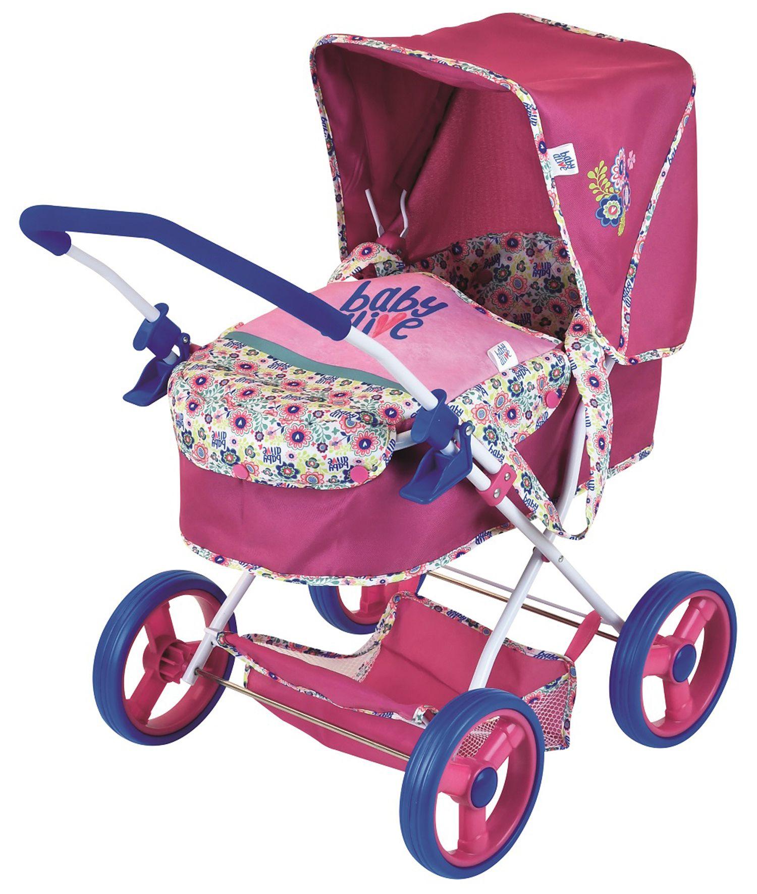 Baby Alive Doll Pram Walmart Com In 2021 Baby Doll Strollers Baby Alive Doll Clothes Baby Alive Dolls