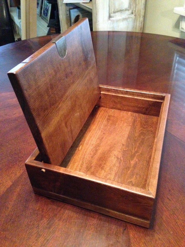 finished wooden box with lid open wooden boxes pinterest box