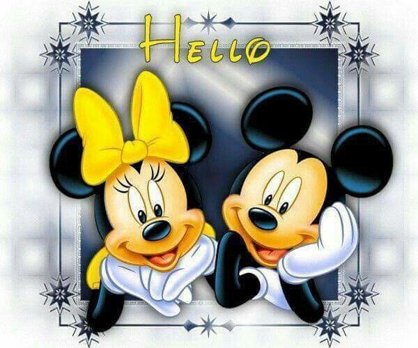 Hello! | Mickey mouse and friends, Disney friends, Mickey