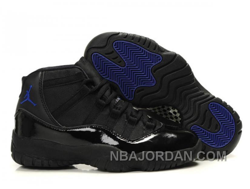 jordan 11 noir bleu