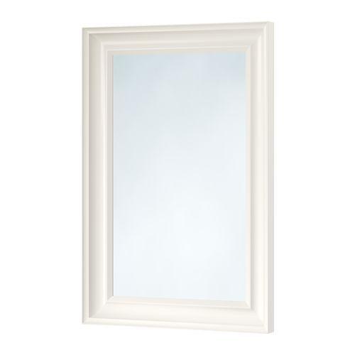 Ikea hemnes mirror white can be hung horizontally - Espejo hemnes blanco ...