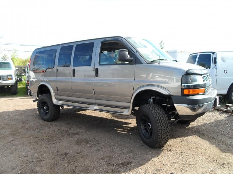 4x4 Chevy Express Conversion Van