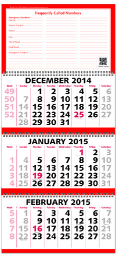 2021 Three Month At A Glance Calendar With Week Numbers Calendar With Week Numbers Week Number At A Glance Calendar