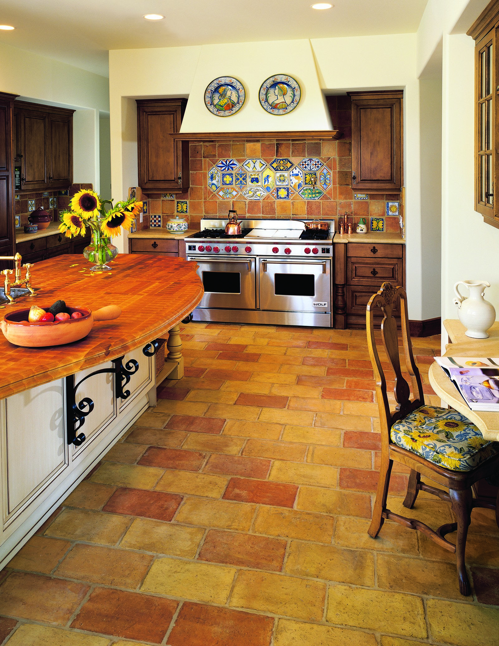 Kitchen Flooring Ideas – wood, tile, and parquet flooring Photos | Architectural Digest