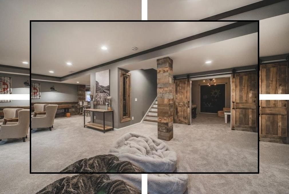 Finished Basement Plans Basement Family Room Ideas On A Budget