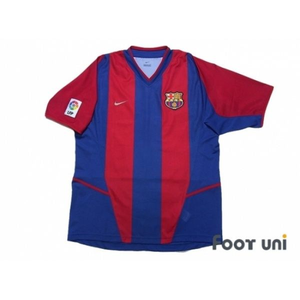 15564eb1506 FC Barcelona 2002-2003 Home Shirt LFP Patch Badge  fcbarcelona   fcbarcelona2002