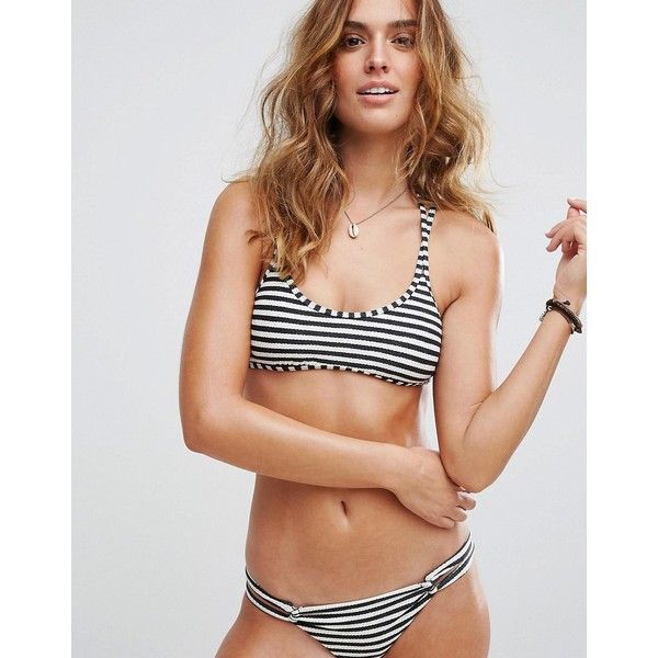 Stripe Bikini Top - Multi Billabong Free Shipping Brand New Unisex Outlet 100% Guaranteed ljQJxUY